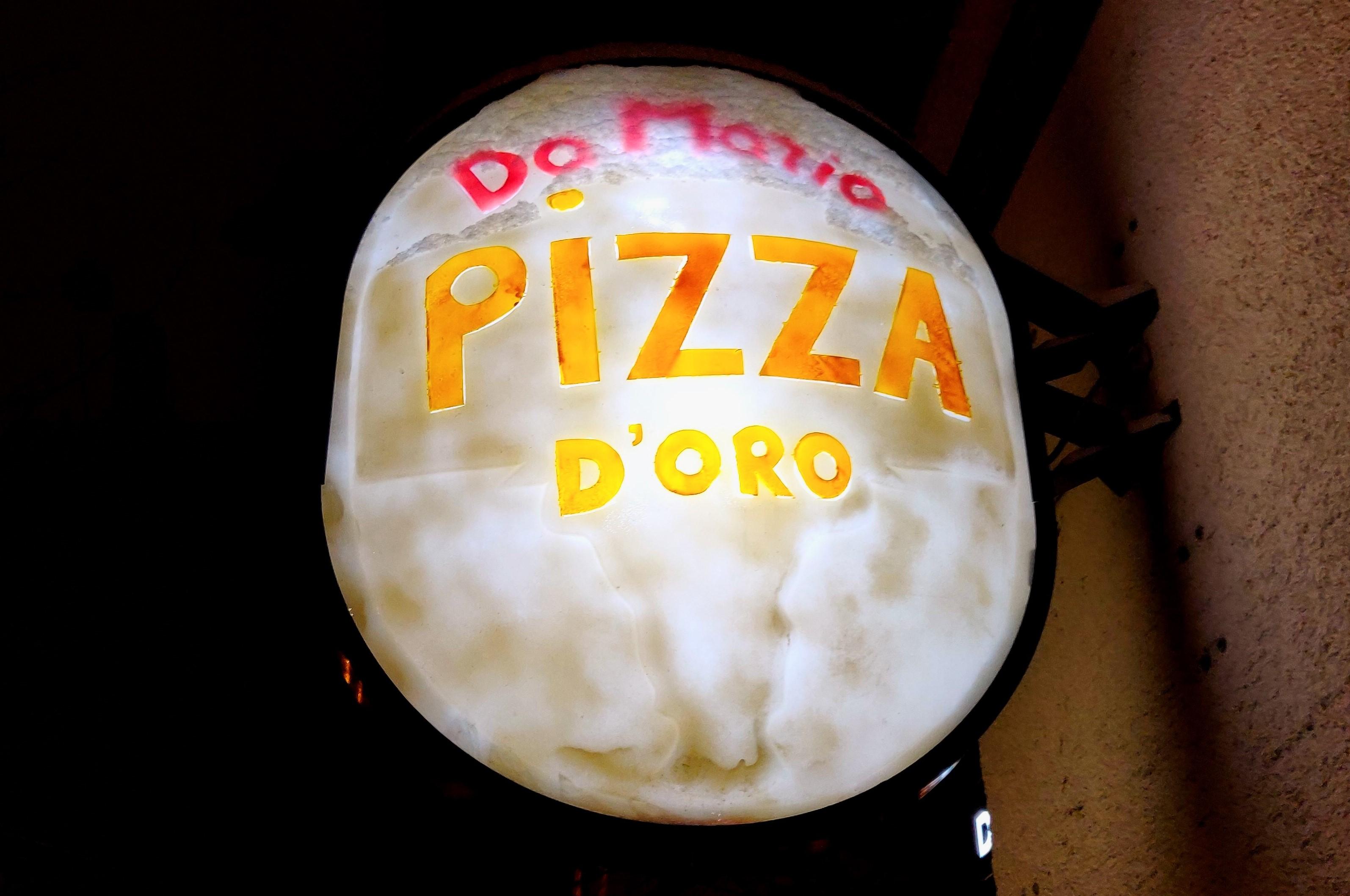 Pizzeria Da Mario – Pizza D'Oro